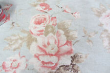 Unbranded Floral 100% Linen Upholstery Craft Fabrics