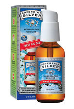 Sovereign Silver Homeopathic Colloidal Silver First Aid Gel Pump (2 oz./59 ml)