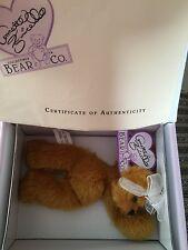 NIB Annette Funicello Collectible Mohair Bear Co. #210 Mango Tango Bear