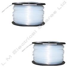 2 x Strimmer Spool & Line For Black & Decker GL280 GLC13 GLC2500 GLC3000