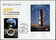 Papua New Guinea 2019. First Landing on the Moon - 50 years (II) (Mint) FDC