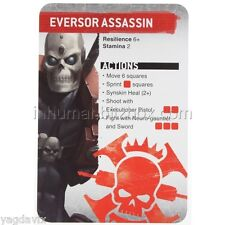 SAS06 EVERSOR REFERENCE CARD ASSASSINORUM WARHAMMER 40,000 BITZ W40K