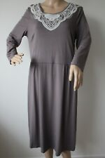 BODEN LADIES CSUAL JERSEY DRESS IN GREY SIZE 16L