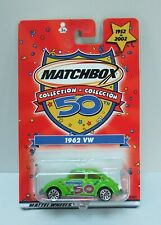 Matchbox 50 Years Collection 1962 VW Volkswagen Beetle Bug Lime Green 2001