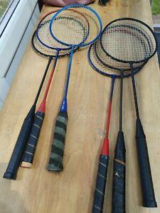 Bundle Of 6 Badminton Rackets Dunlop XLT 100 AND MORE