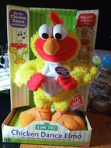 Chicken Dance Elmo doll, Brand New & Sealed **still works**