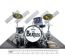 Mini Drum set the BEATLES ringo star tribute scale 1:4 miniature collectible kit