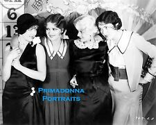 "JEAN ARTHUR ,BOW, LANE & HARLOW 8X10 Lab Photo B&W 1929 ""SATURDAY NIGHT KID"""