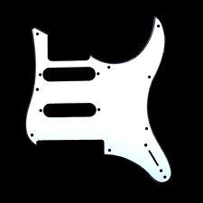(B73) 3Ply Guitar Pickguard For YAMAHA Pacifica 112V PAC112V -White US shipped