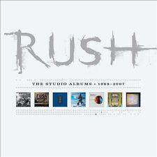The Studio Albums 1989-2007 [Box Set] [Box] by Rush (CD, Sep-2013, 7 Discs, Atlantic (Label))