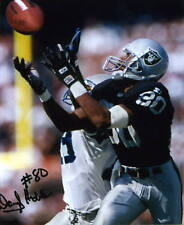 1- DARYL HOBBS OAKLAND RAIDERS 8X10 PRINT AUTO PHOTO