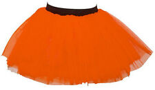 New Neon Tutu Skirt Hen Fancy Dress Party 3 Layers of Net Ladies skirt size 8-18