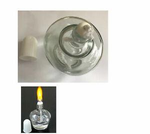 Spirit Burner Lamp, Alcohol burner Lamp 250ml Burner Burning Clear Glass , 10 pc