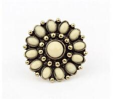Women Designer Charm Fashion Jewelry Vintage Flower Wrap Finger Ring