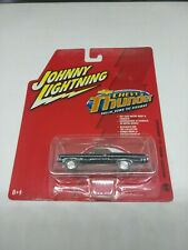 2006 JL WHITE LIGHTNING 1/64 SCALE 1969 CHEVY IMPALA SS CONVERTIBLE/ WHITE BASE
