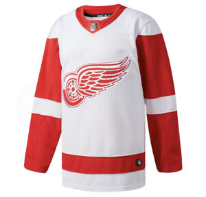 Adidas NHL DETROIT RED WINGS Authentic Home Hockey Jersey Men's 44 (XS) - NWT