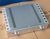 New Aluminum amplifier chassis (size:361X85X270mm)
