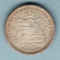 USA - Hawaii.  1883 Quarter Dollar..  Near Full Lustre..  aU-UNC