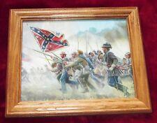 Civil War Painting. Mort Kunstler, CONFEDERATE CHARGE, 2nd Manassas, Bull Run