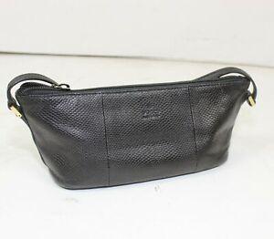 Authentic Vintage Gucci Black Leather Pouch