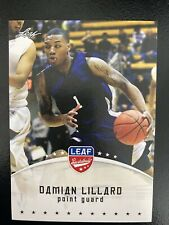 DAMIAN LILLARD 2012 Leaf RC #1 NBA Basketball Card***HOT***
