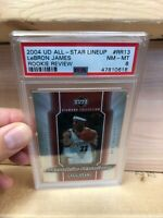 Lebron James 2004 Upper Deck Rookie Review DIAMOND RR13 **RARE** (PSA 8)