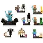 The New Lego Minecraft Minifigure Zombie | Steve | Skeleton | New & SEALED