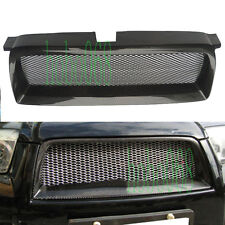 1x For Subaru Forester STI 05-08 Carbon Fibe Front Grill Mesh Bumper Hood Grille