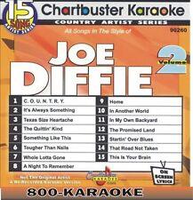 Chartbuster Karaoke Artist Series CD+G #9260 Joe Diffie v.2 15 Song cdg kareoke
