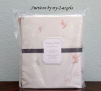 NEW Pottery Barn Kids Monique Lhuillier ETHEREAL BUTTERFLY SATEEN Full Sheet Set