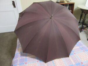 Vintage 1950's plum purple umbrella for Fall