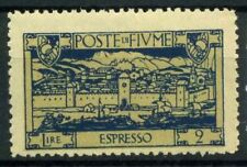 Fiume 1923 Sass. E8 zzi Nuovo ** 100% San Vito e soggetti vari