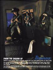 Thomas McRocklin Ibanez Jem 777 Vbk Steve Vai ad 8 x 11 advertisement print