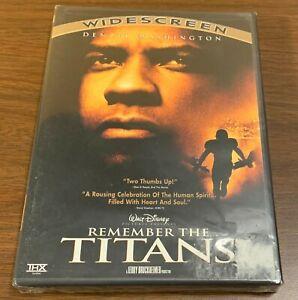 Remember the Titans DVD Widescreen  Denzel Washington Walt Disney  *NEW/ SEALED*