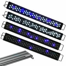 "Aquanet Led Aquarium Light Color Adjustable 12"" 20"" 24"" Fish Tank Blue & White"