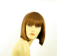 Perruque femme courte blond foncé FLORENCE 27