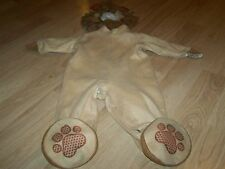 Infant Size Medium 12-18 Months In Character Lion 2 Piece Halloween Costume EUC