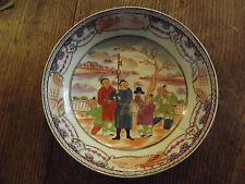Antique Chinese Saucer. c.1760's Export. Famille Rose. Beautiful.