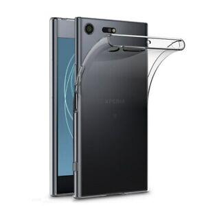2x Sony Xperia XZ XZs XZ1 XZ2 Compact Premium XZ3 XZ4 Soft TPU Bumper Case Cover