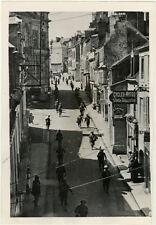 Photo Argentique Mamers Loire France WW1 Guerre Troupe Américaine 1944