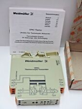 WEIDMULLER UPAC Thermo W428-0001 THERMOCOUPLE TRANSMITTER 832767