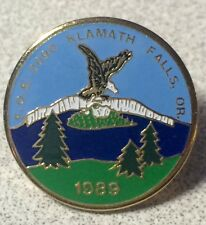 KLAMATH FALLS OREGON ~ FOE2090 ~ Civic Social Organization 1988 Lapel Pin