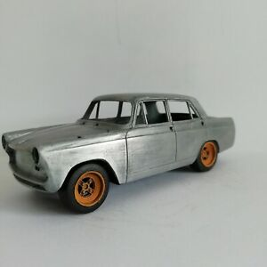 Three sets of wheel and tyre 1:43 scale