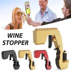 Champagne Spray Gun Wine Stopper Dispenser Bottle Beer Ejector Party Celebration