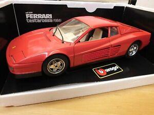 Burago 3019 - Ferrari Testarossa (1984) Rot - 1/18 - OVP