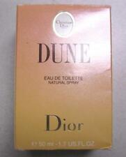 DUNE FOR WOMAN CHRISTIAN DIOR  - 50 ML  1.7 FL.OZ.- EAU TOILETTE  BATH CODE 6M01
