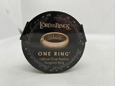 Lotr One Ring Official Prop Replica Tungsten Ring Jens Hansen maker Sz 10