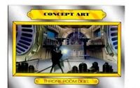 TOPPS CONCEPT ART #CA-6 THRONE ROOM DUEL TFA JOURNEY TO STAR WARS INSERT CARD
