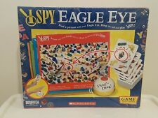 I SPY EAGLE EYE BOARD GAME BRIARPATCH SCHOLASTIC 2005 NEW SEALED W/ WEAR