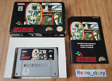 Super Nintendo SNES T2 The Arcade Game PAL